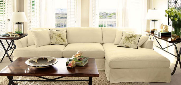 Emory Slipcovered Sectional reg$5149 on sale for $3599 : bella sectional - Sectionals, Sofas & Couches